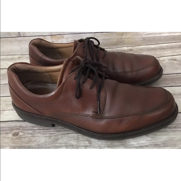 c7729b26 Ecco Holton Brown Leather Oxfords